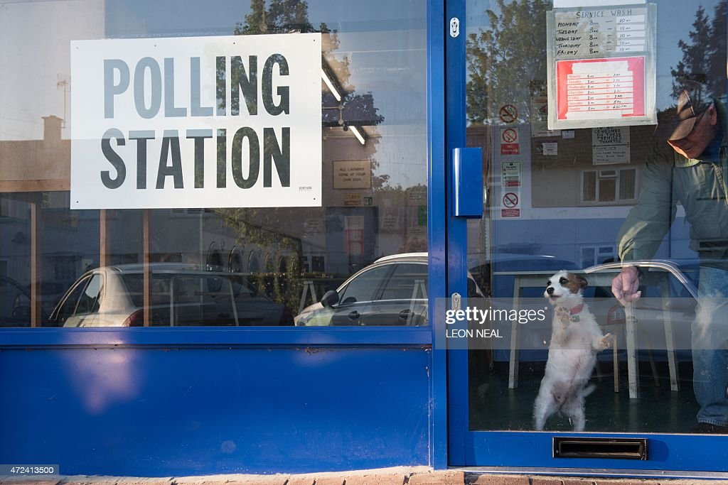 BRITAIN-VOTE-OPEN : News Photo