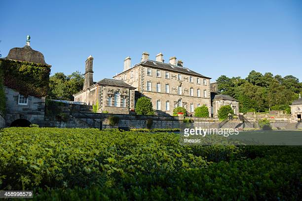 pollock house - south face - theasis stock pictures, royalty-free photos & images