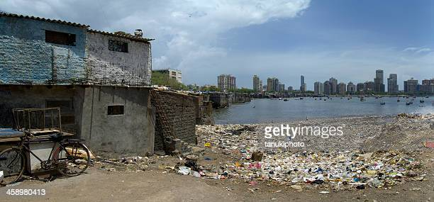 Polluted Beach in Mumbai