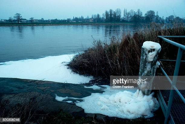 Pollution in the Elbe River