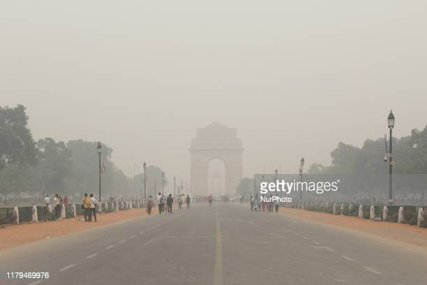 Pollution levels rose as toxic smog engulfs Delhi after Diwali celebrations in the national capital forcing government agencies to declare public...