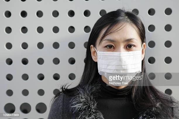 Pollution Mask Portrait