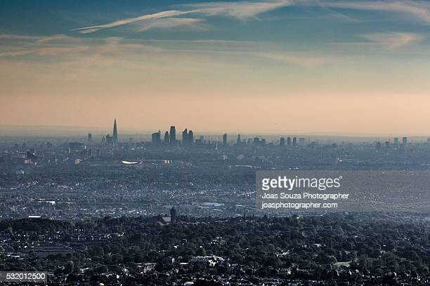 Pollution Over London: An Aerial View