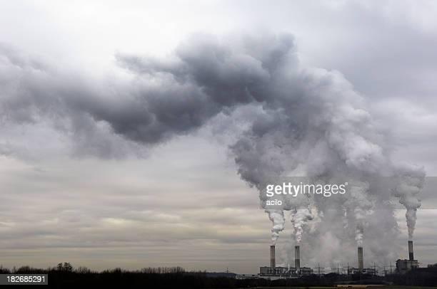 Power plant et de la pollution
