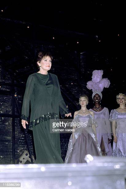 Polly Bergen during Roundabout Theatre Company Presents Follies at Belasco Theatre in New York City NY United States