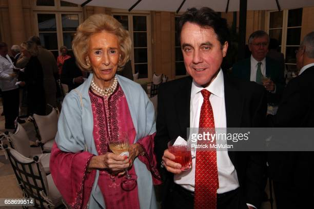 Polly Johnson and George Stephen attend Ira and Ingeborg Rennert Benefit For Southampton Hospital at Rennert Estate on June 4 2009 in East Hampton...