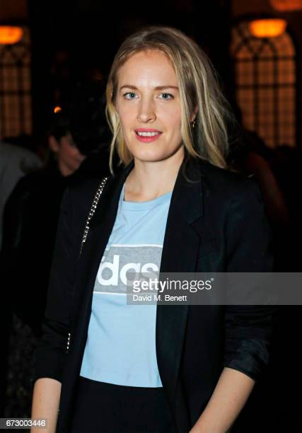 Polly Morgan attends a preopening dinner hosted by Kate Bryan at Zobler's Delicatessen at The Ned London on April 25 2017 in London England