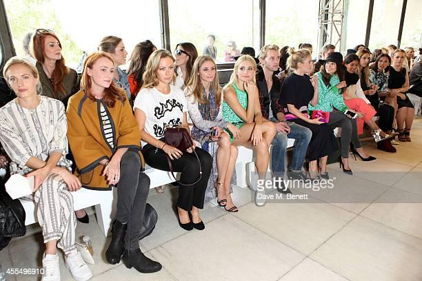 Polly Morgan, Keeley Hawes, Camilla Al Fayed, Olivia Palermo, Pixie Lott, Trent Whiddon, Marissa Montgomery, Sarah-Ann Macklin, guests and Tanya Burr...