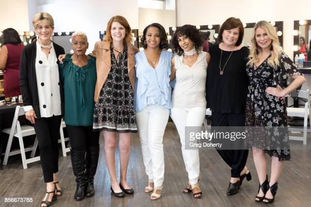 Polly Roberts Cynthia Sewell Velvet Johnson Brenda Allen Colleen Murray and Stylist Sadie Murray attend the Citadel Outlets Launch PINK SAVES...