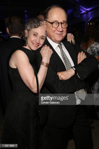 Polly Rua and Claude Barilleaux attend Museum Of The City Of New York Chairman's Leadership Awards Dinner at Museum of the City of New York on June...