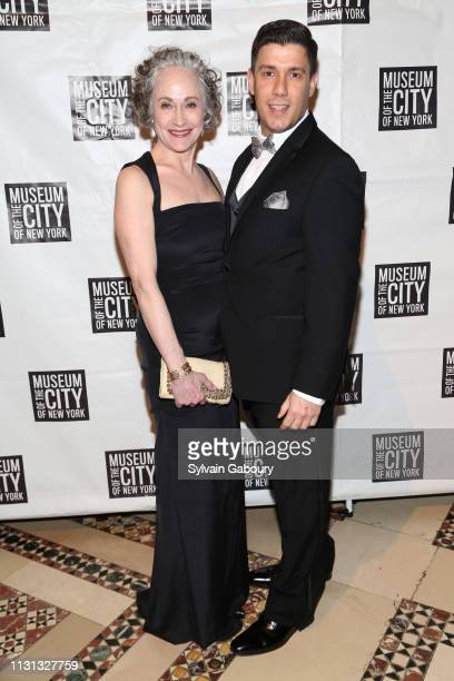 Polly Rua and Keith Butler attend Museum Of the City Of New York Winter Ball at Cipriani 42nd Street on February 21, 2019 in New York City.