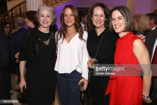 Polly Rua Andrea London Kathy Angele and Whitney Donhauser attend Museum Of The City Of New York Louis Auchincloss Prize Gala at Museum of the City...