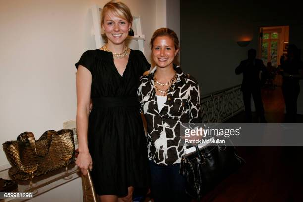 Polly Ryerson and Allison Katz attend PAIGE GAMBLE and KARA ACKERMAN Spring/Summer Trunk Show at The Pucci Building on May 20 2009 in New York City