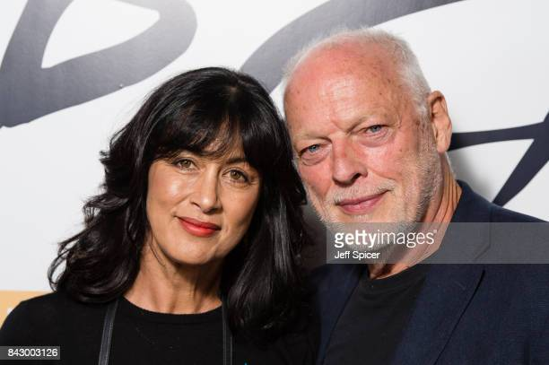 Polly Samson and David Gilmour arrive for the David Gilmour 'Live At Pompeii' premiere screening at Vue West End on September 5 2017 in London England
