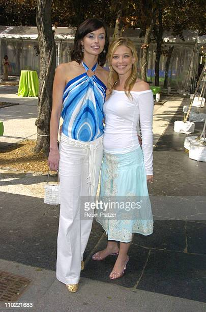 Polly Shannon and Amanda Detmer during 2005/2006 ABC UpFront at Lincoln Center in New York City New York United States
