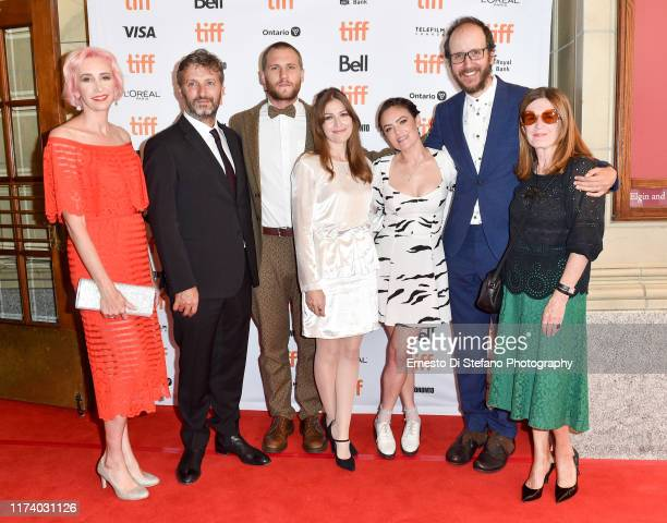 Polly Staniford Gregor Jordan George Mason Kelly Macdonald Julia Stone Jack Thorne and Finola Dwyer attend the Dirt Music premiere during the 2019...