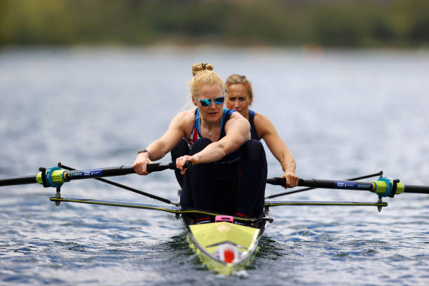 GBR: TeamGB Rowing Training Session