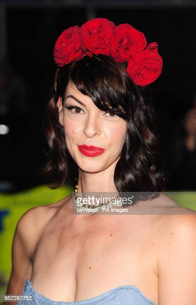 Pollyanna McIntosh arrives at the premiere of Filth at the Odeon West End in London