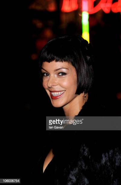 Pollyanna Mcintosh arrives for the Burke and Hare World Premiere at The Chelsea Cinema on October 25 2010 in London England
