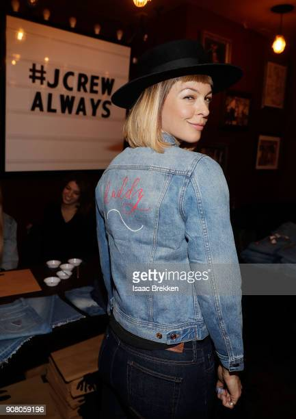 Pollyanna McIntosh attends Rock Reilly's daytime lounge presented by JCrew NYLON and Roku during Sundance Film Festival 2018 on January 20 2018 in...