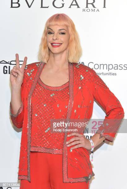 Pollyanna McIntosh attends the 26th annual Elton John AIDS Foundation's Academy Awards Viewing Party at The City of West Hollywood Park on March 4...