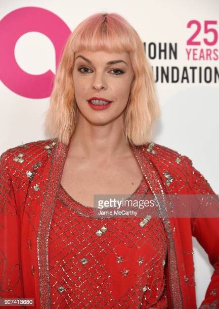 Pollyanna McIntosh attends the 26th annual Elton John AIDS Foundation Academy Awards Viewing Party sponsored by Bulgari celebrating EJAF and the 90th...