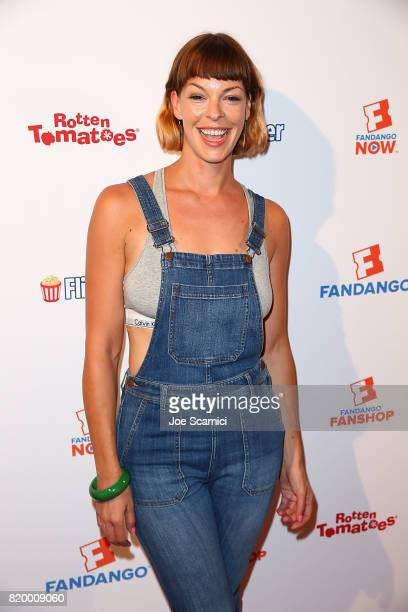 Pollyanna McIntosh attends the ComicCon International 2017 Fandango Opening Night Party at San Diego Convention Center on July 20 2017 in San Diego...