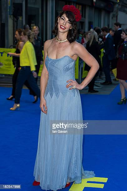 Pollyanna McIntosh attends the London Premiere of 'Filth' at Odeon West End on September 30 2013 in London England