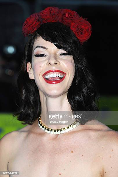 Pollyanna McIntosh attends the London premiere of 'Filth' at The Odeon Leicester Square on September 30 2013 in London England