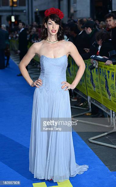 Pollyanna McIntosh attends the London Premiere of 'Filth' at the Odeon West End on September 30 2013 in London England
