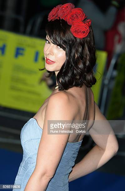 Pollyanna McIntosh attends the premiere of Filth at Odeon West End