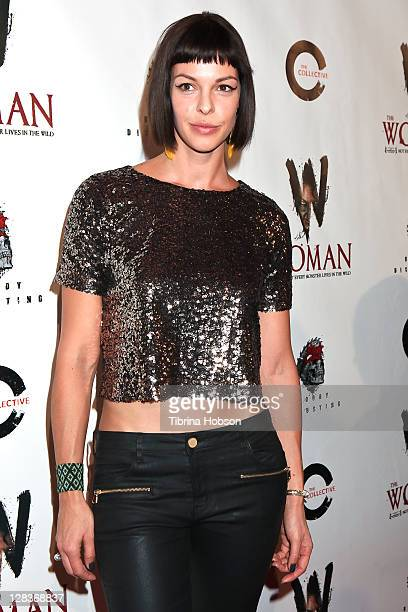 Pollyanna McIntosh attends The Woman premiere at Laemmle Sunset 5 Theatre on October 6 2011 in West Hollywood California