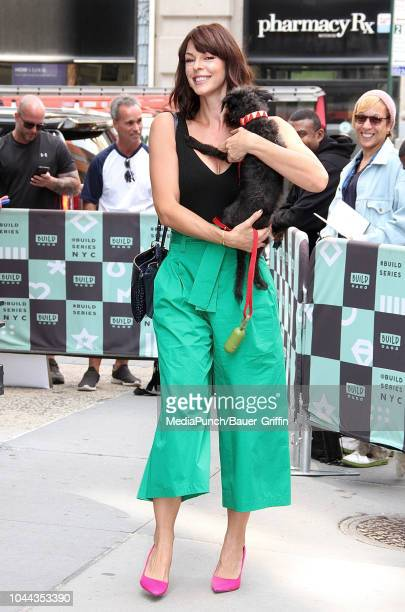 Pollyanna McIntosh is seen on October 01 2018 in New York City