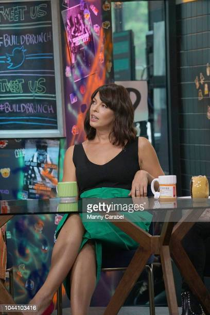 Pollyanna McIntosh visits Build Series to discuss the new season of 'The Walking Dead' at Build Studio on October 1 2018 in New York City