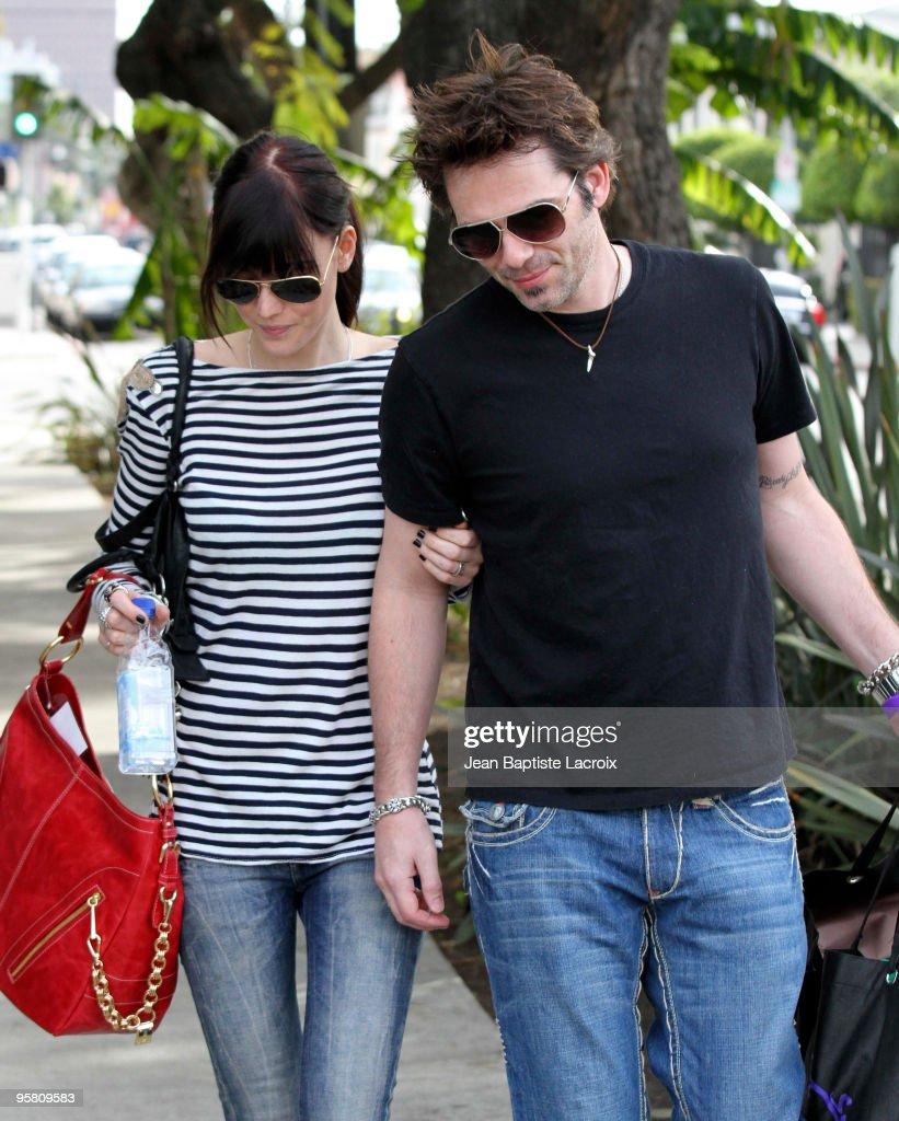 Celebrity Sightings In Los Angeles - January 15, 2010