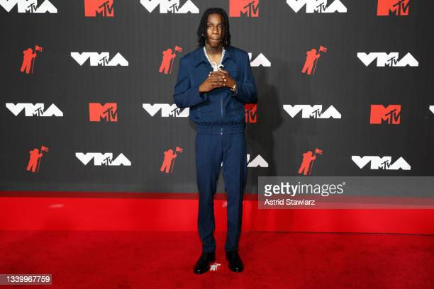 Polo G attends the 2021 MTV Video Music Awards at Barclays Center on September 12, 2021 in the Brooklyn borough of New York City.