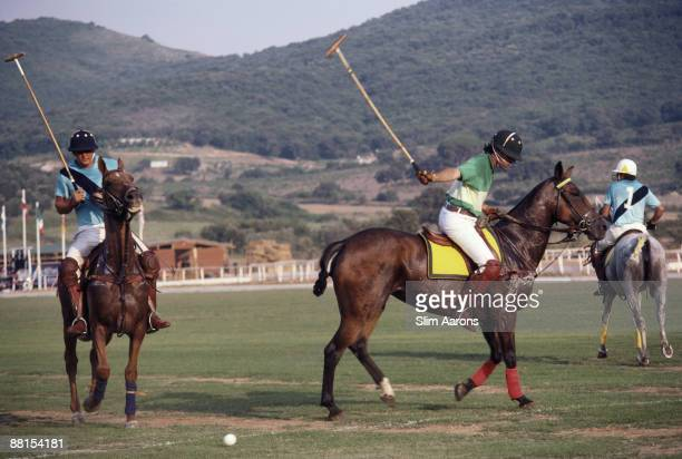 A polo match September 1985