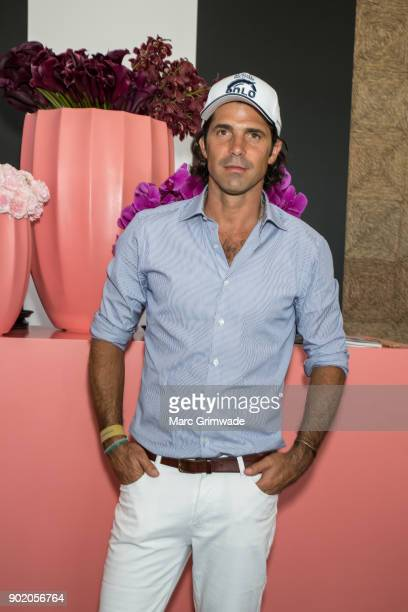 Polo player Nacho Figeuras attends Magic Millions Polo on January 7 2018 in Gold Coast Australia