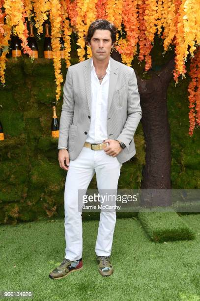 Polo player Nacho Figueras attends the 11th annual Veuve Clicquot Polo Classic at Liberty State Park on June 2 2018 in Jersey City New Jersey