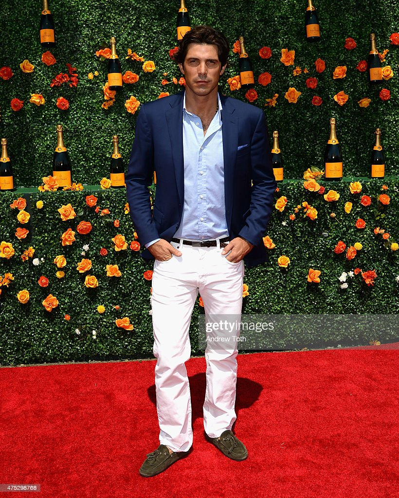 Polo player Nacho Figueras attends the 8th Annual Veuve Clicquot Polo Classic at Liberty State Park on May 30, 2015 in Jersey City, New Jersey.