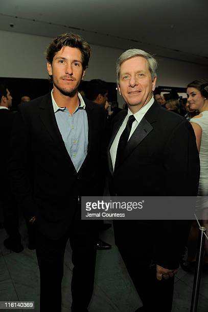 Polo Player Nic Roldan and President of Piaget North America Larry Boland attend the 2nd Annual amfAR Inspiration Gala at The Museum of Modern Art on...