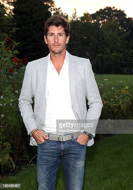 Polo Player Nic Roldan attends Grey Goose Summer Punch Film Series hosted by Polo Player Nic Roldan Grey Goose at Inn at Windmill Lane on August 18...
