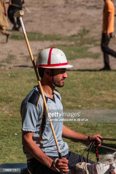 Polo player on Mai 25 2016 in Chitral Khyber Pakhtunkhwa Pakistan