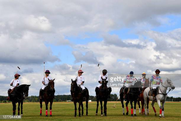 Polo players compete for the USPA trophy at Grandiosity Events 4th annual Polo & Jazz celebrity charity benefit hosted by Real Housewives of...