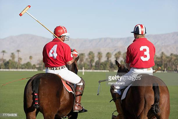 polo players - polo stock pictures, royalty-free photos & images