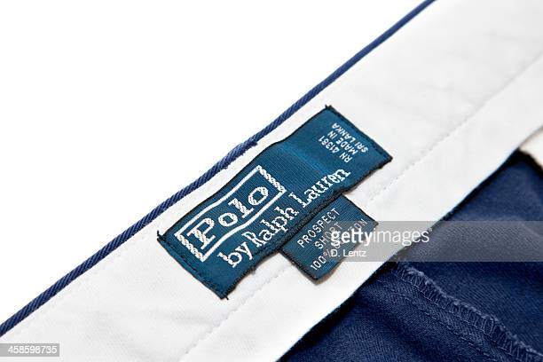 polo ralph lauren - ralph lauren designer label stock pictures, royalty-free photos & images