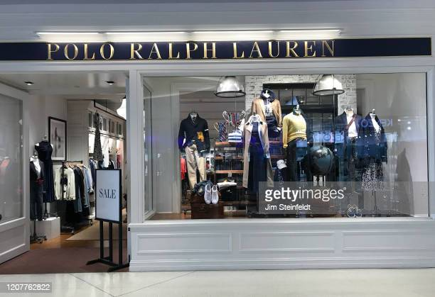Polo Ralph Lauren store at the Beverly Center in Los Angeles, California on February 19, 2020.