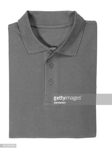 polo shirt folded - clipping path