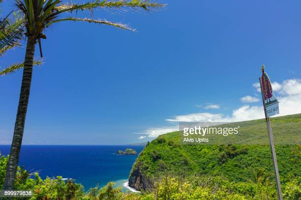 Pololu Valley Lookout in North Kohala, Hawaii