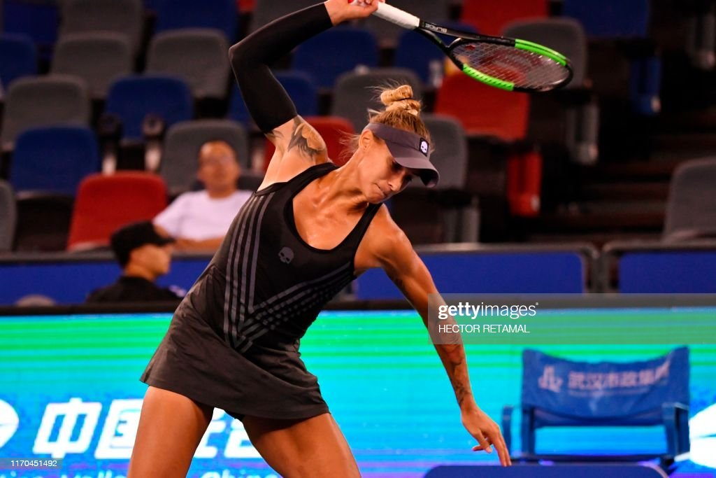 TOPSHOT-TENNIS-WTA-CHN : News Photo